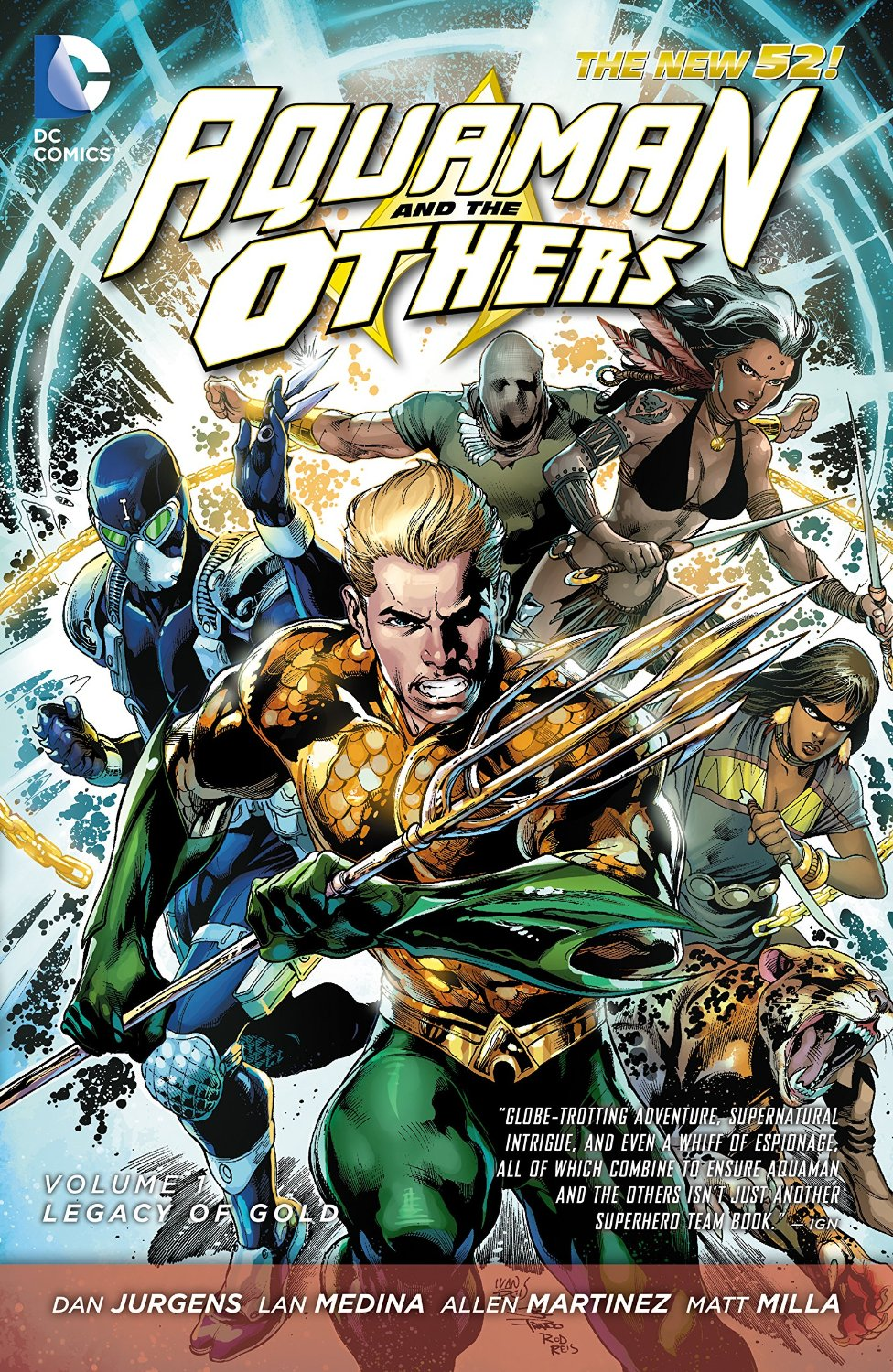 Aquaman and the Others: Legacy of Gold (Collected)