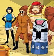 Brotherhood of Evil Scooby-Doo Team Up 001