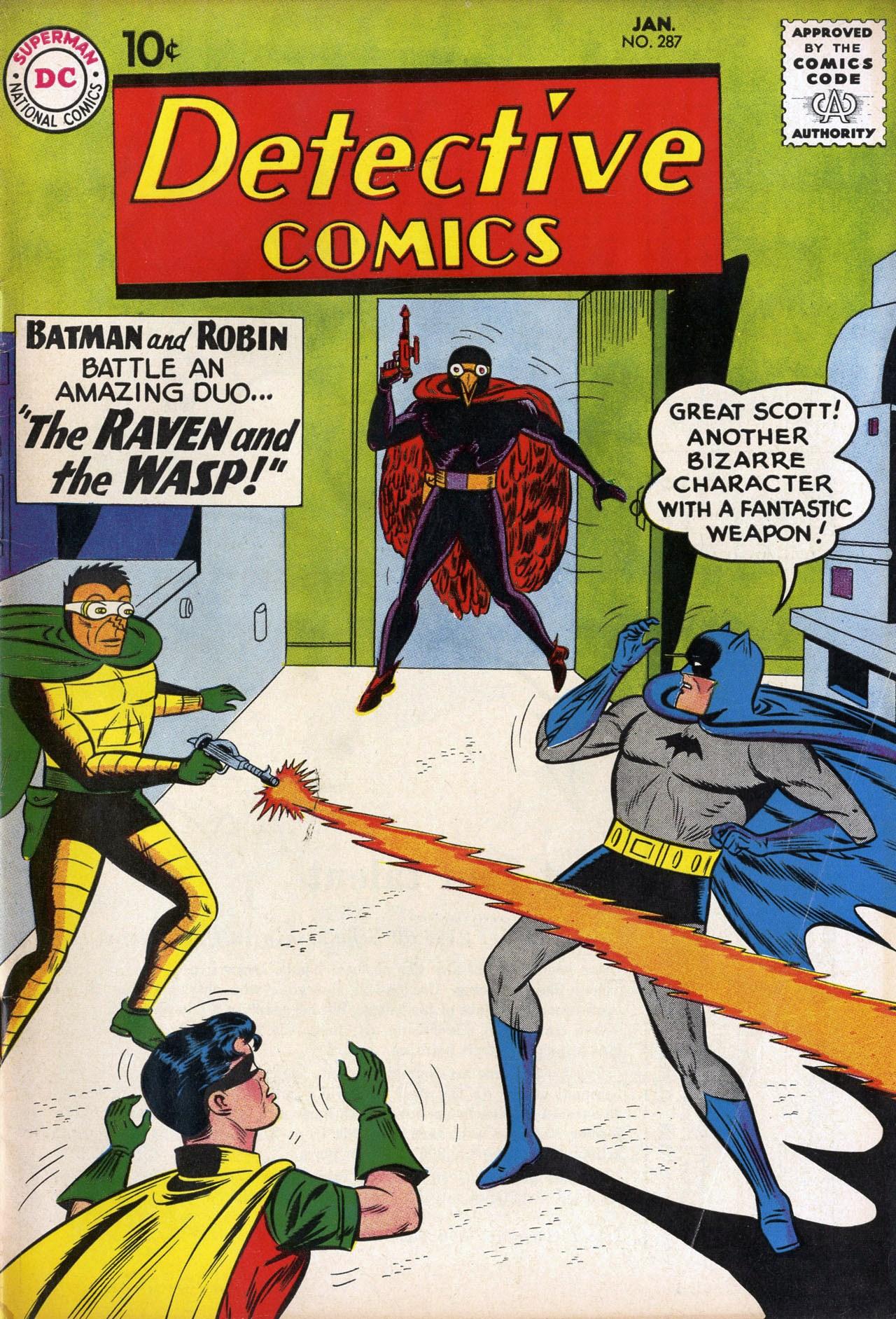 Detective Comics Vol 1 287