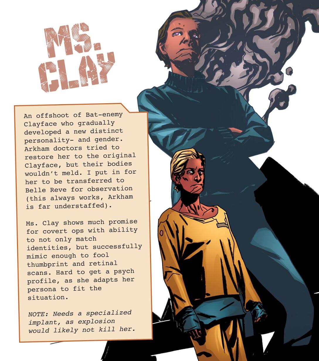 Ms. Clay (DC Animated Movie Universe)