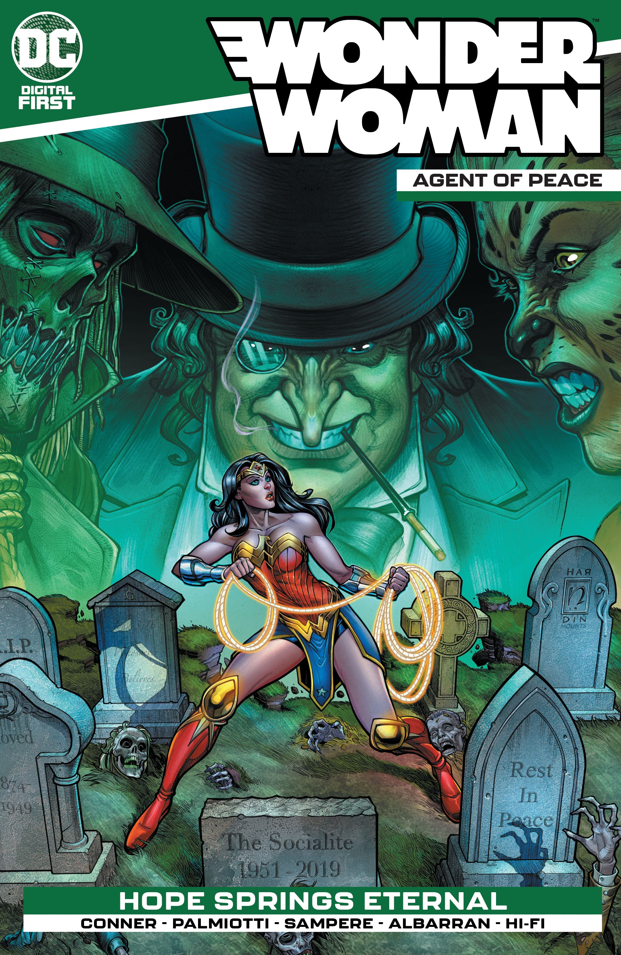 Wonder Woman: Agent of Peace Vol 1 4 (Digital)