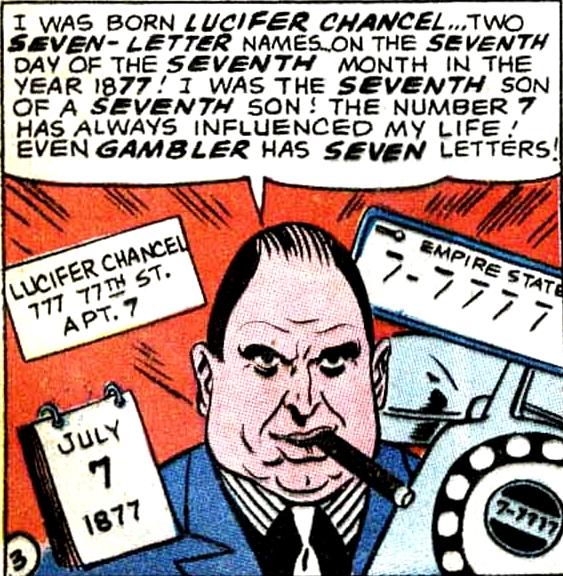 Lucifer Chancel (Earth-One)