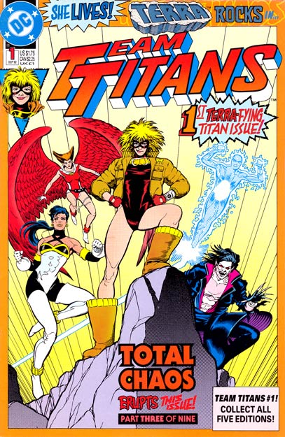 Team Titans Vol 1 1: Terra