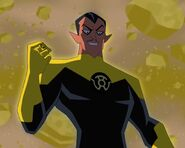 Thaal Sinestro Justice League Action 0001