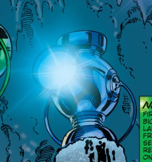 Blue Lantern Power Battery
