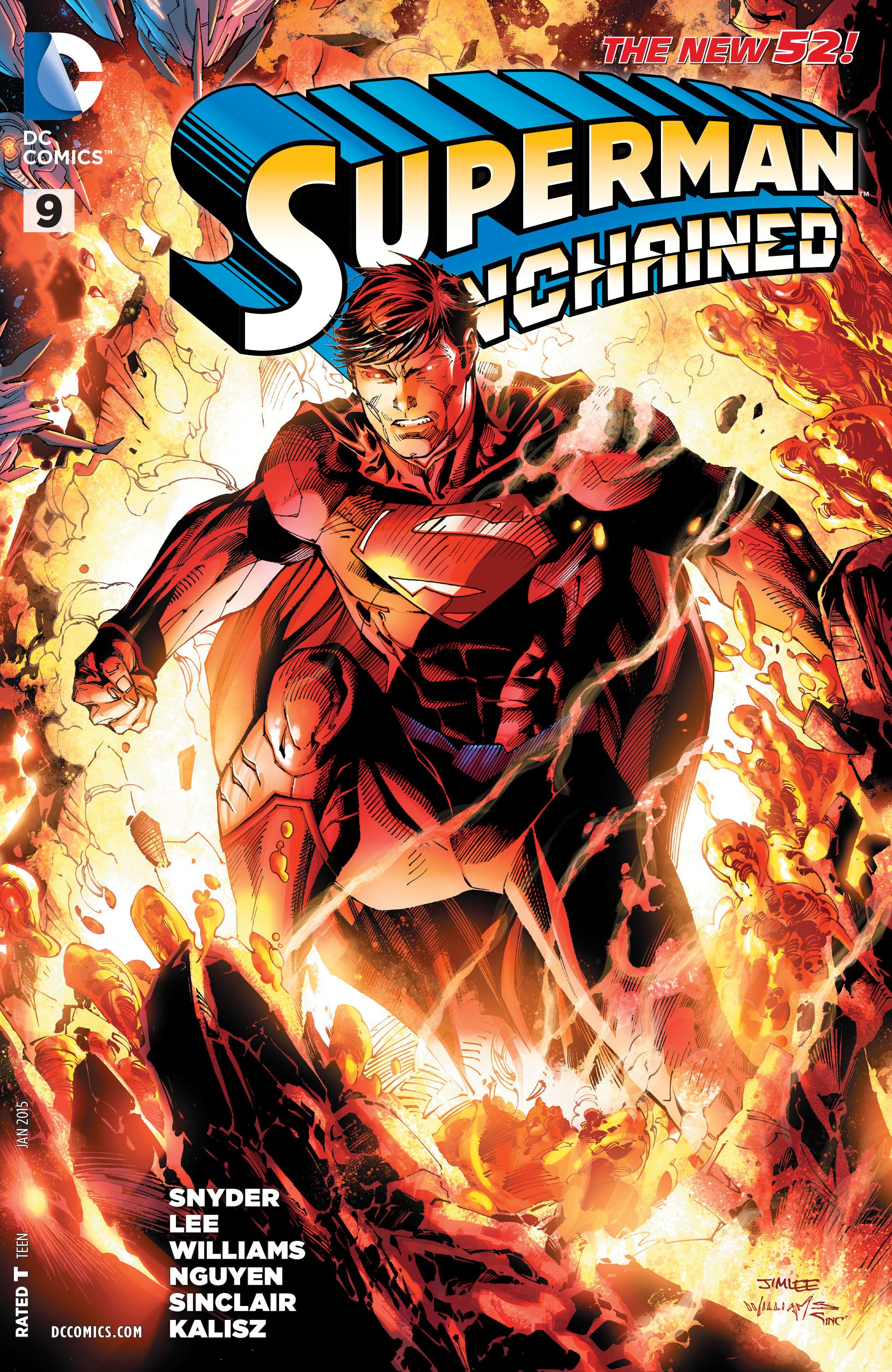 Superman Unchained Vol 1 9