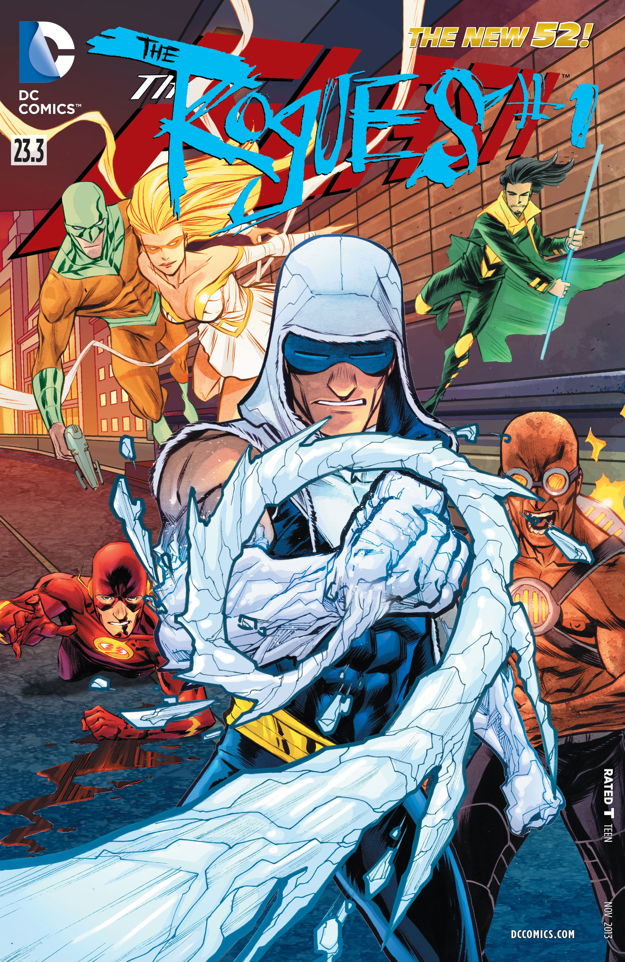 The Flash Vol 4 23.3: The Rogues