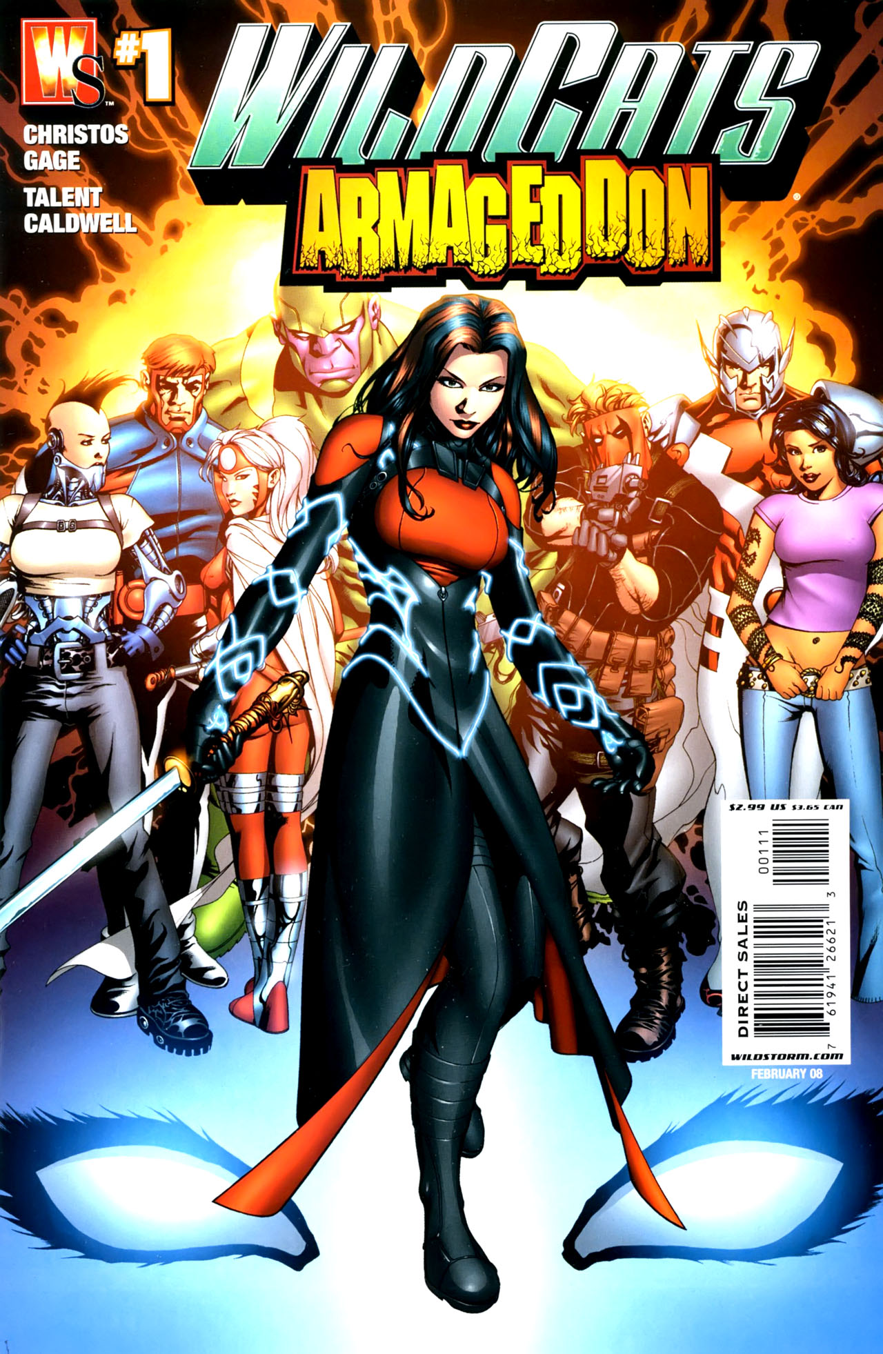 Wildcats: Armageddon Vol 1 1