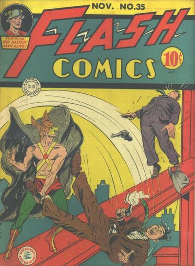 Flash Comics Vol 1 35