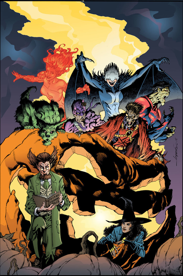 Teen Titans Vol 5 13 Textless Monsters of the Month Variant.jpg