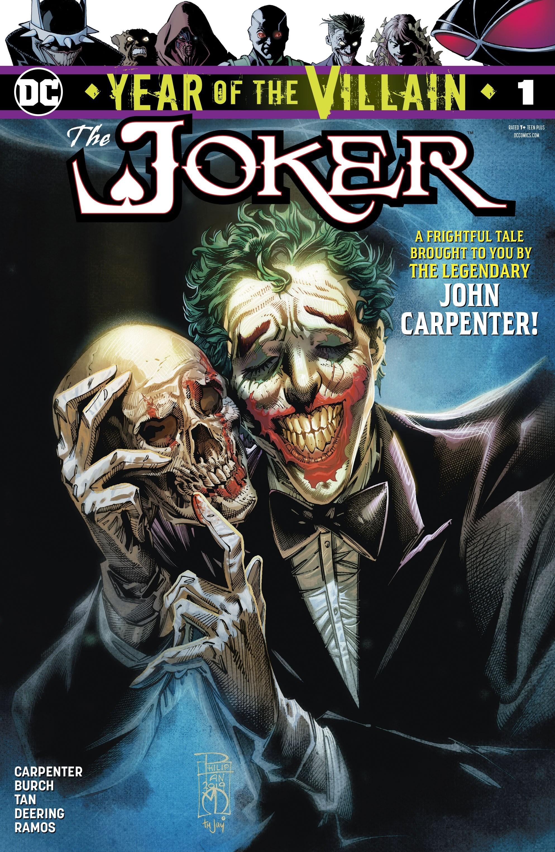 The Joker: Year of the Villain Vol 1 1