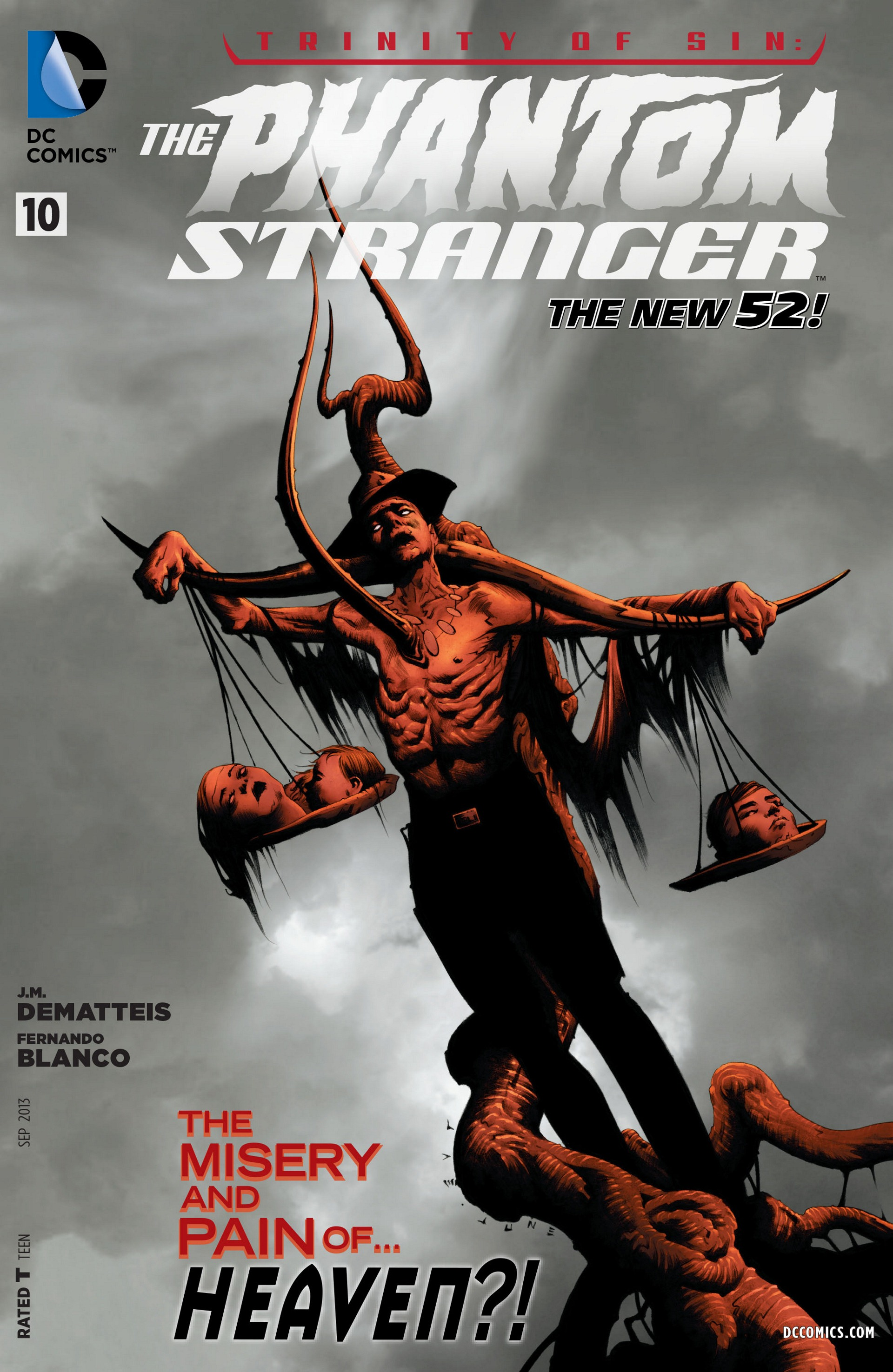 Trinity of Sin: The Phantom Stranger Vol 1 10
