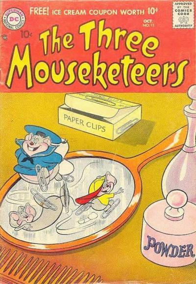 The Three Mouseketeers Vol 1 11