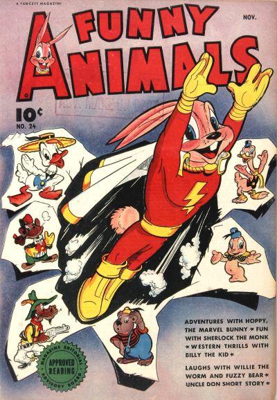 Fawcett's Funny Animals Vol 1 24