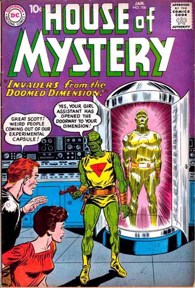 House of Mystery Vol 1 106