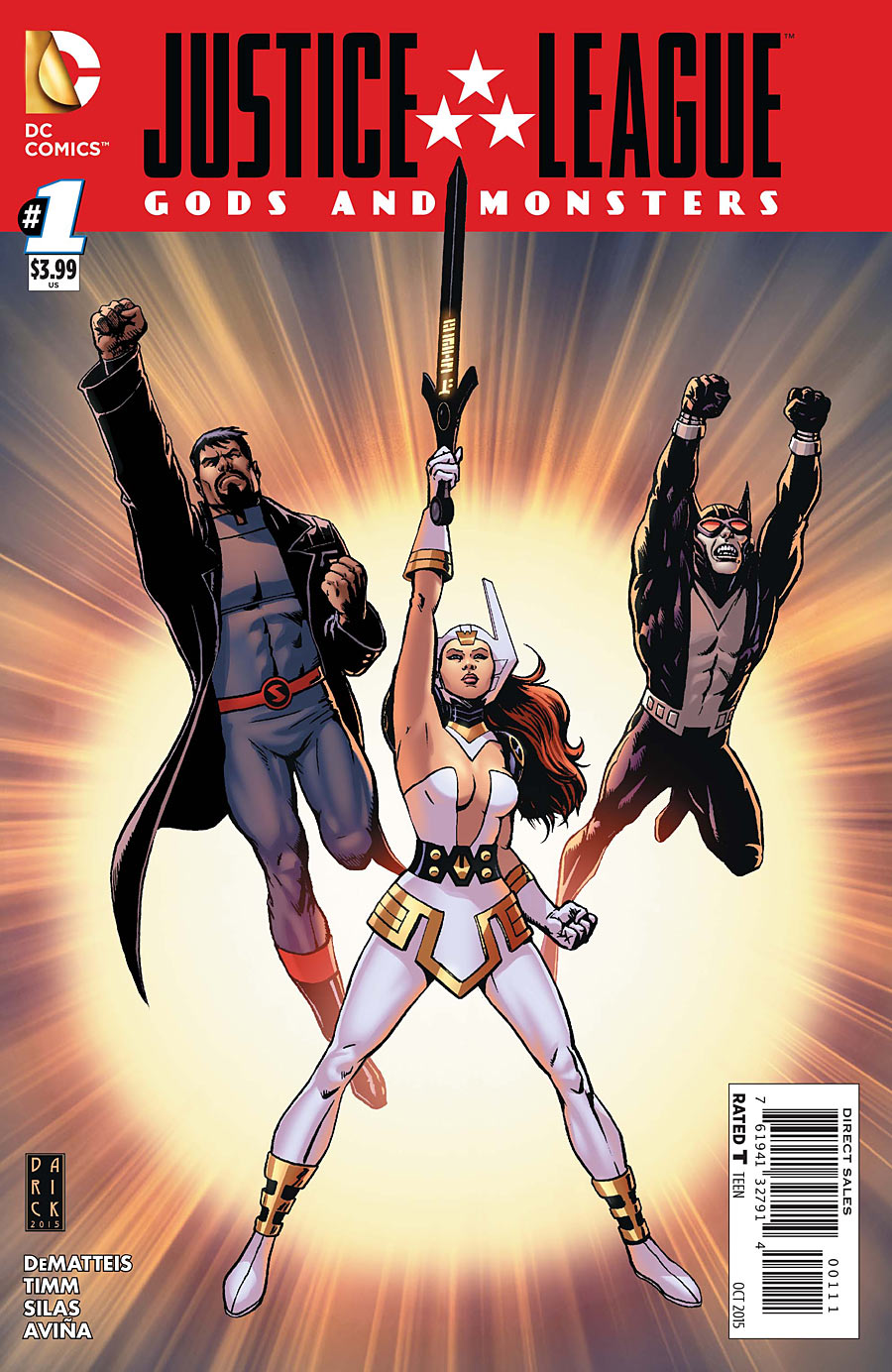 Justice League: Gods and Monsters Vol 1 1
