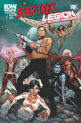 Star Trek/Legion of Super-Heroes Vol 1 5