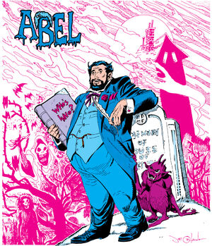 Abel often tells the reader his own story, in his own book.