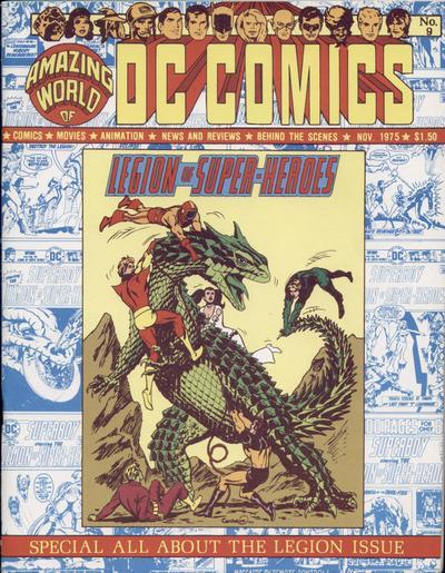 Amazing World of DC Comics Vol 1 9