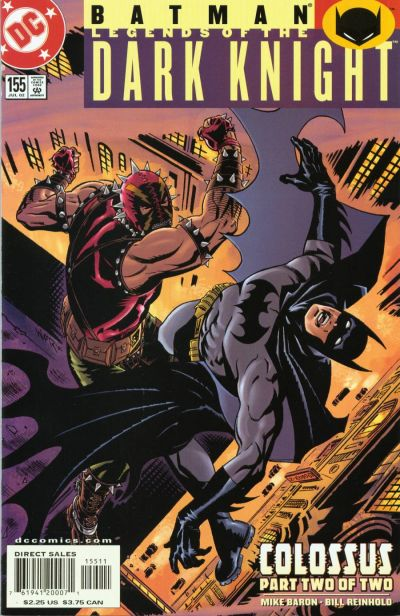 Batman: Legends of the Dark Knight Vol 1 155