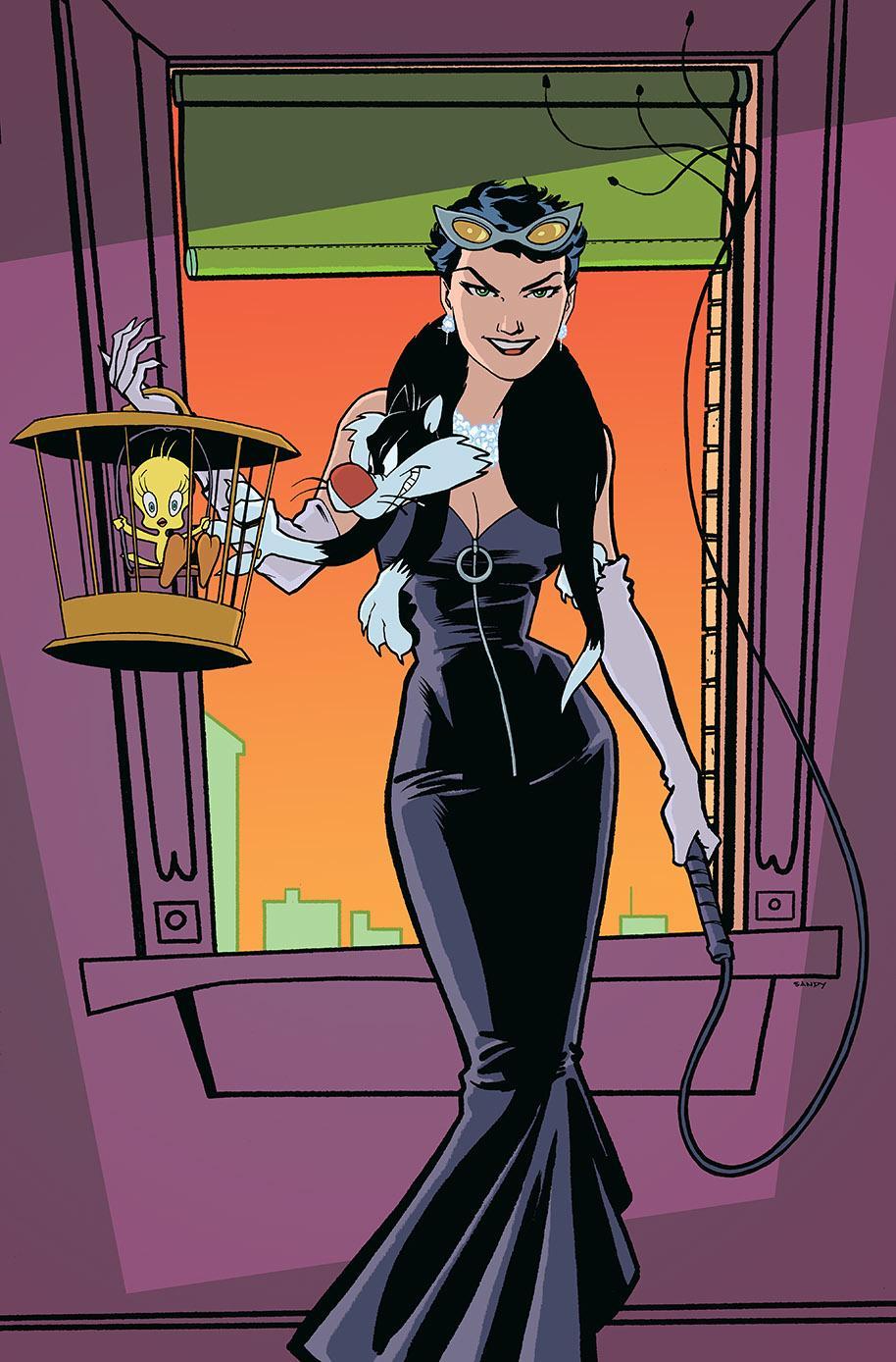 Catwoman Tweety & Sylvester Special Vol 1 1 Variant Textless.jpg