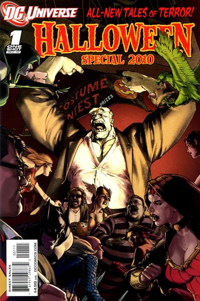 DCU Halloween Special 2010 Vol 1 1