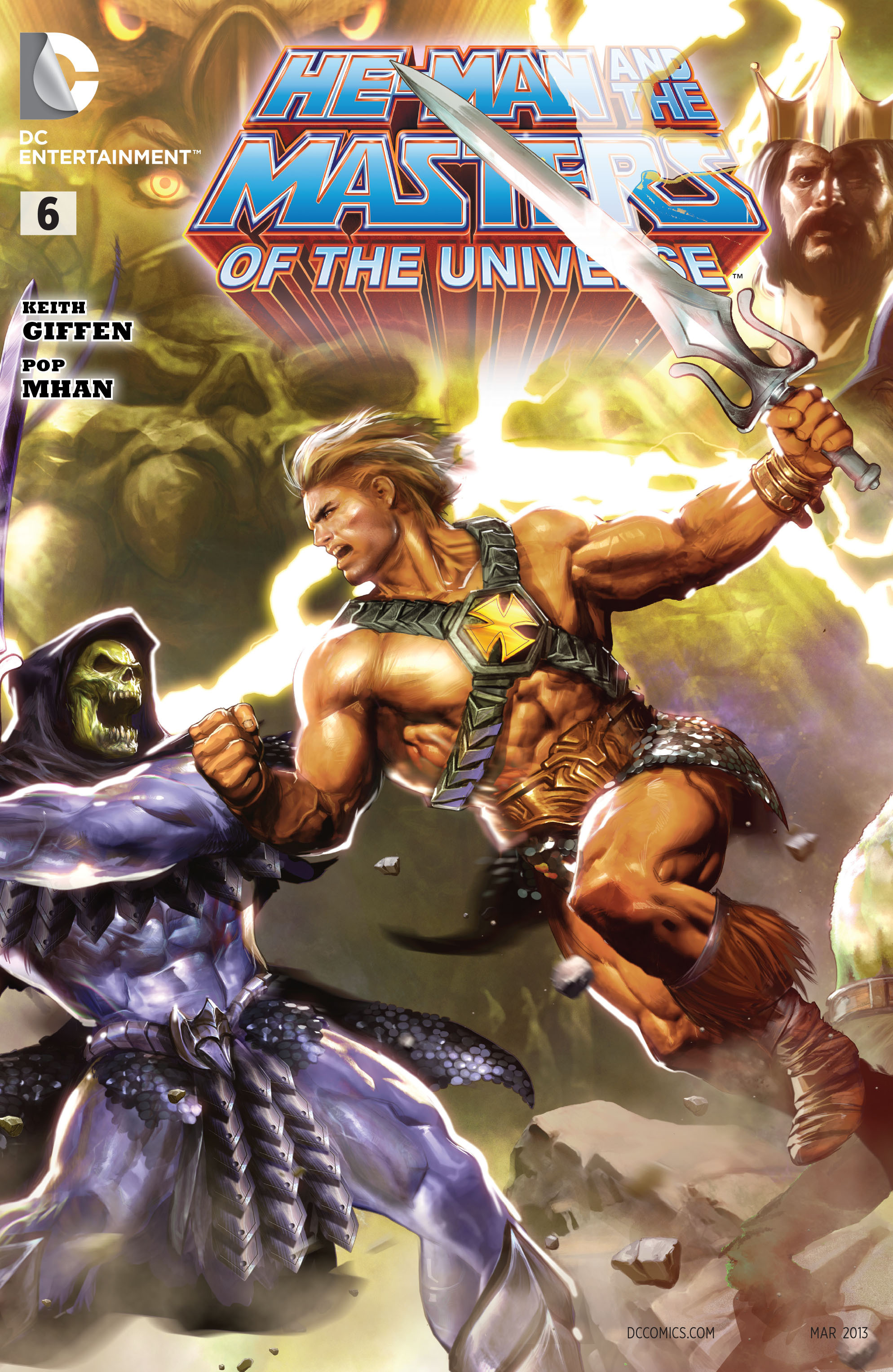 He-Man and the Masters of the Universe Vol 1 6