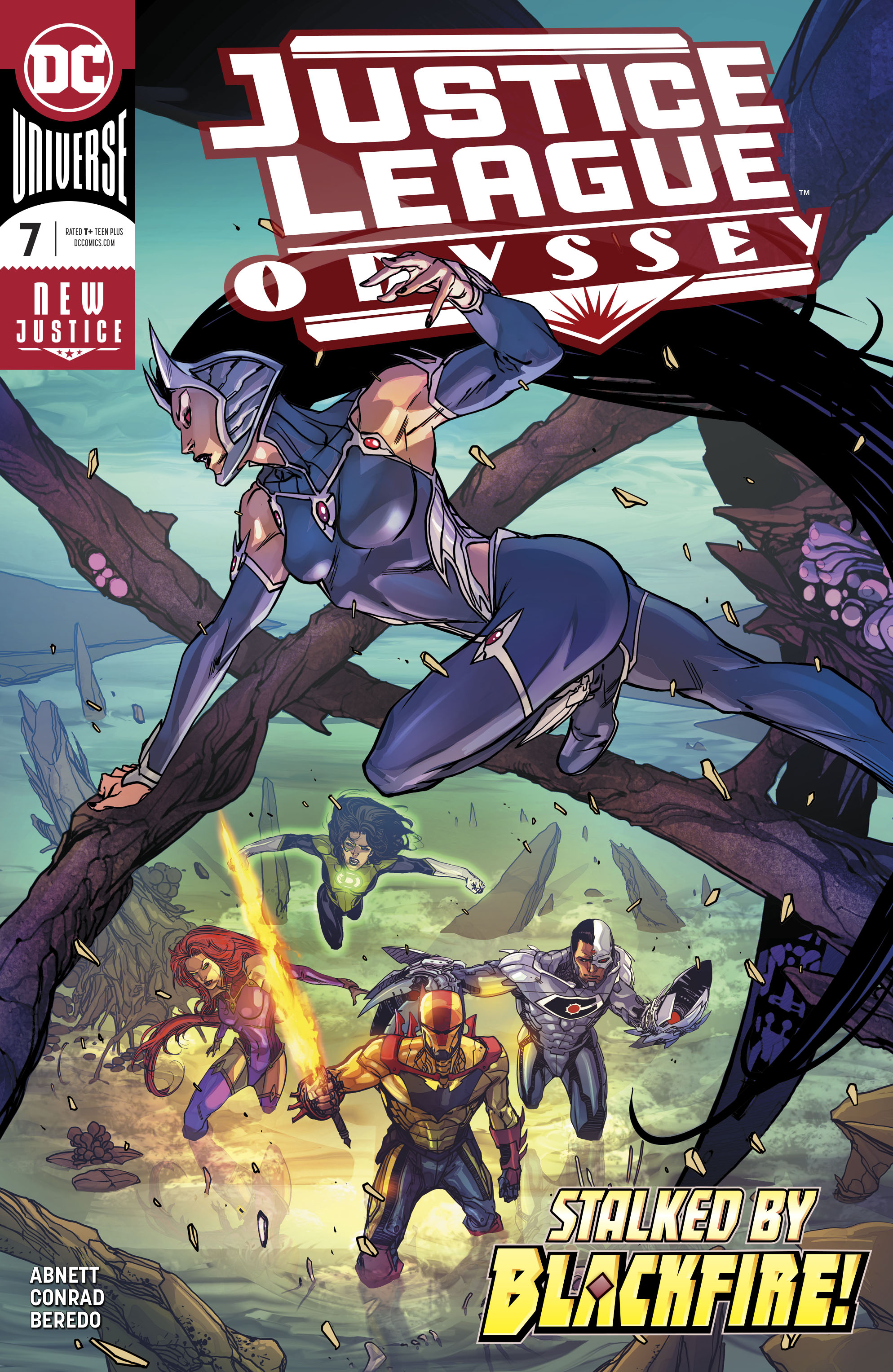 Justice League Odyssey Vol 1 7