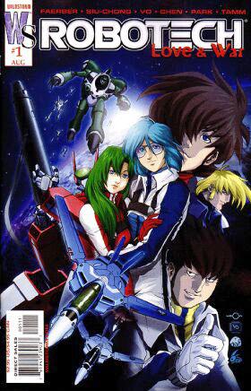 Robotech: Love and War Vol 1