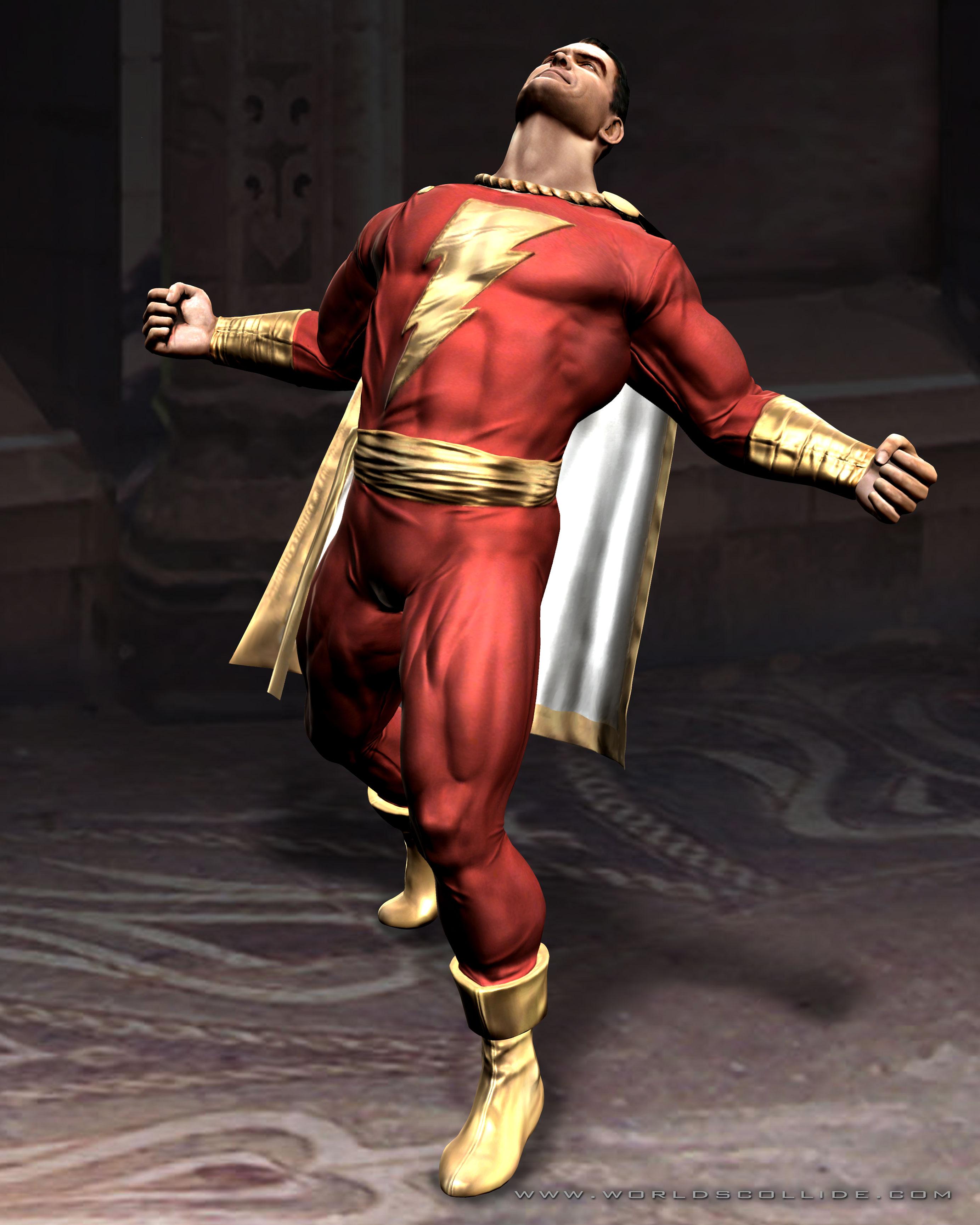 Billy Batson (Mortal Kombat vs. DC Universe)