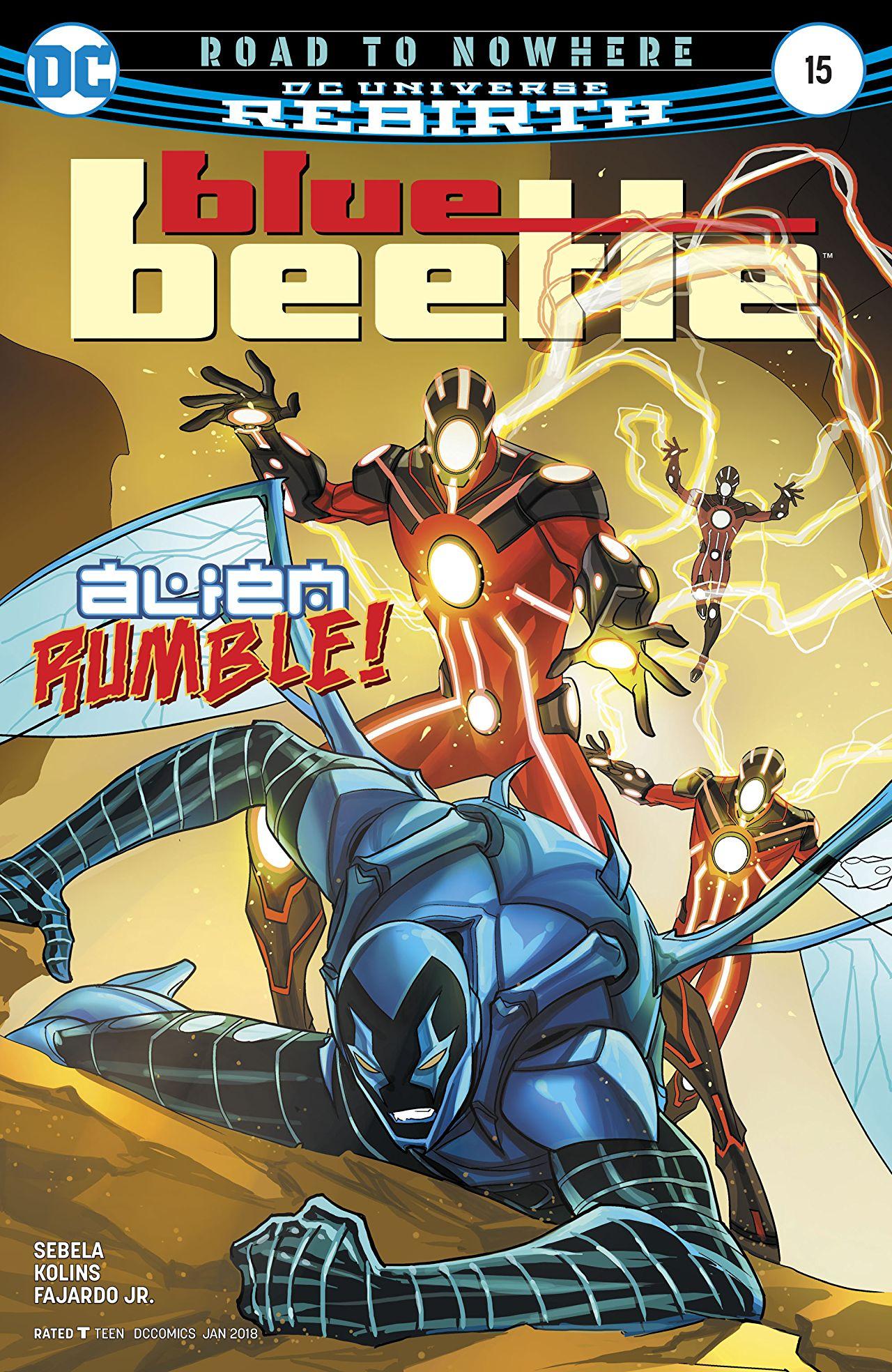 Blue Beetle Vol 9 15