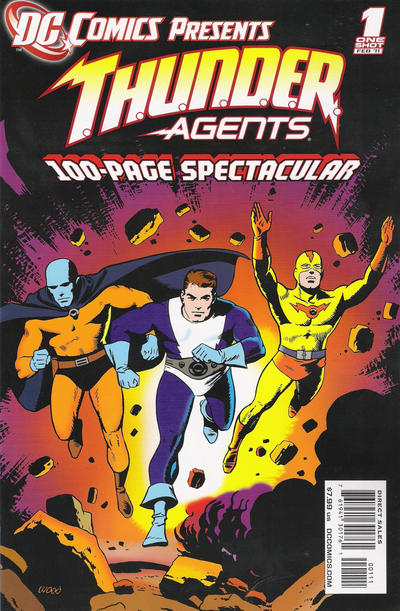 DC Comics Presents: T.H.U.N.D.E.R. Agents Vol 1 1