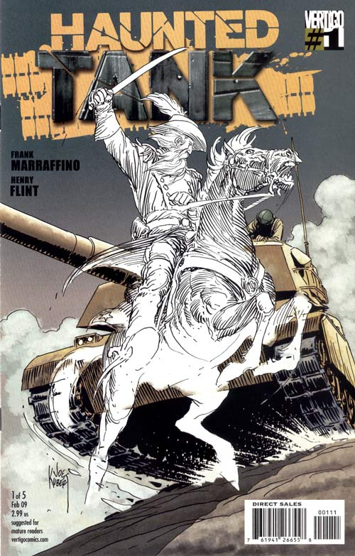 Haunted Tank Vol 1 1