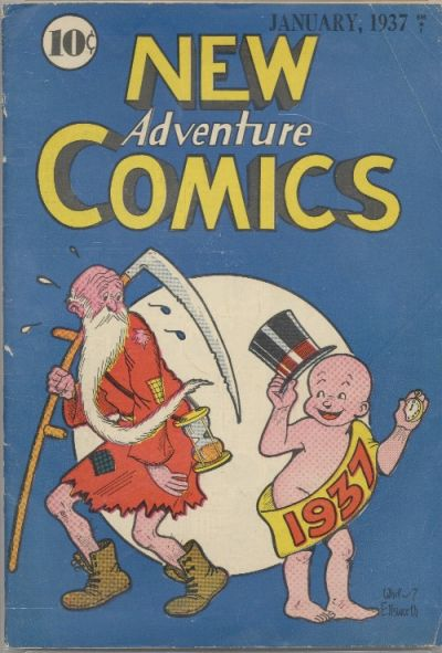 New Adventure Comics Vol 1 12