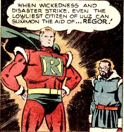 Regor (Earth-Two)