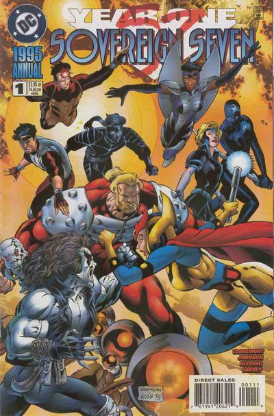 Sovereign Seven Annual Vol 1 1