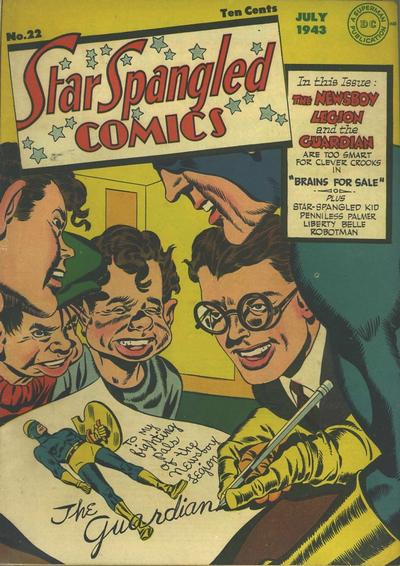 Star-Spangled Comics Vol 1 22