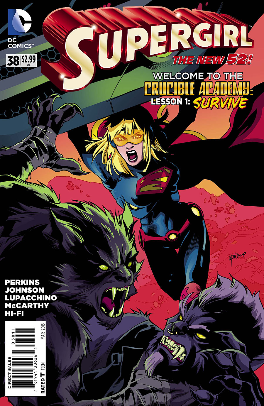 Supergirl Vol 6 38