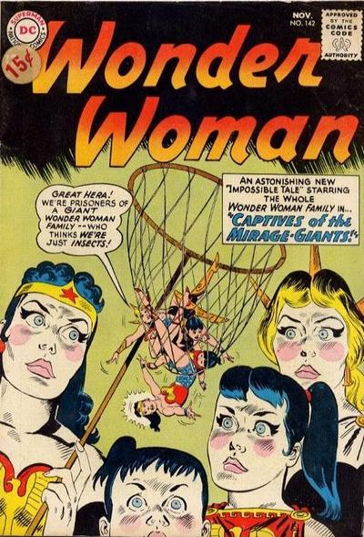 Wonder Woman Vol 1 142