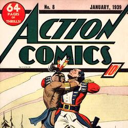 Action Comics Vol 1 8