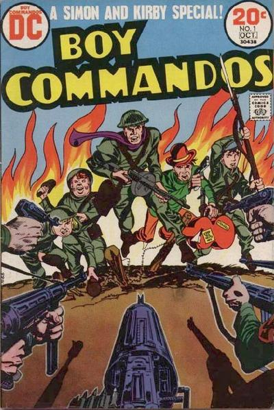 Boy Commandos Vol 2 1