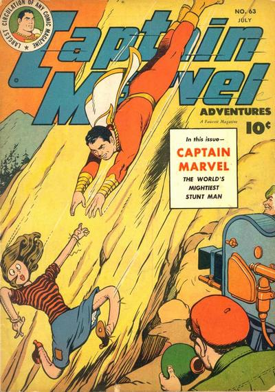 Captain Marvel Adventures Vol 1 63