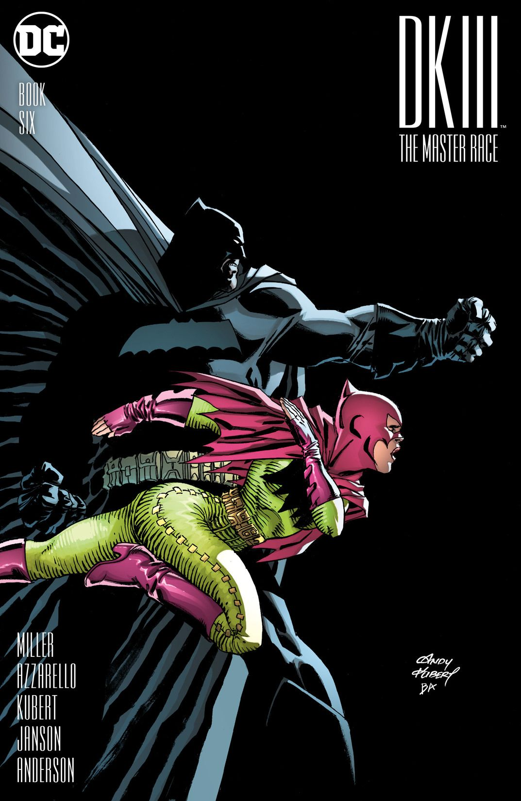 Dark Knight III: The Master Race Vol 1 6