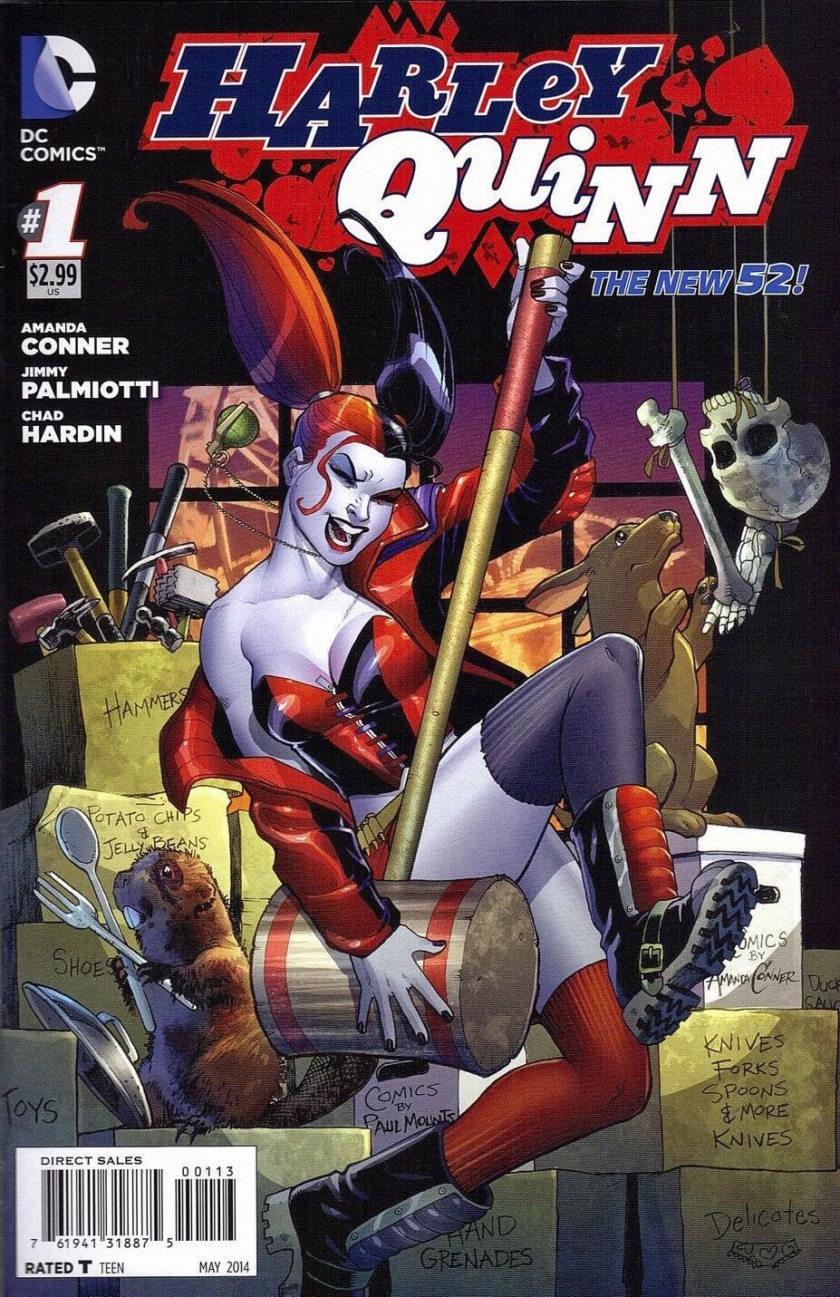 Harley Quinn Vol 2 1 3rd Printing.jpg