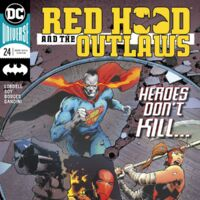Comics CB21631 Red Hood and the Outlaws #24 Variant  D.C