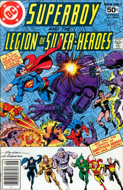 Superboy and the Legion of Super-Heroes Vol 1 243