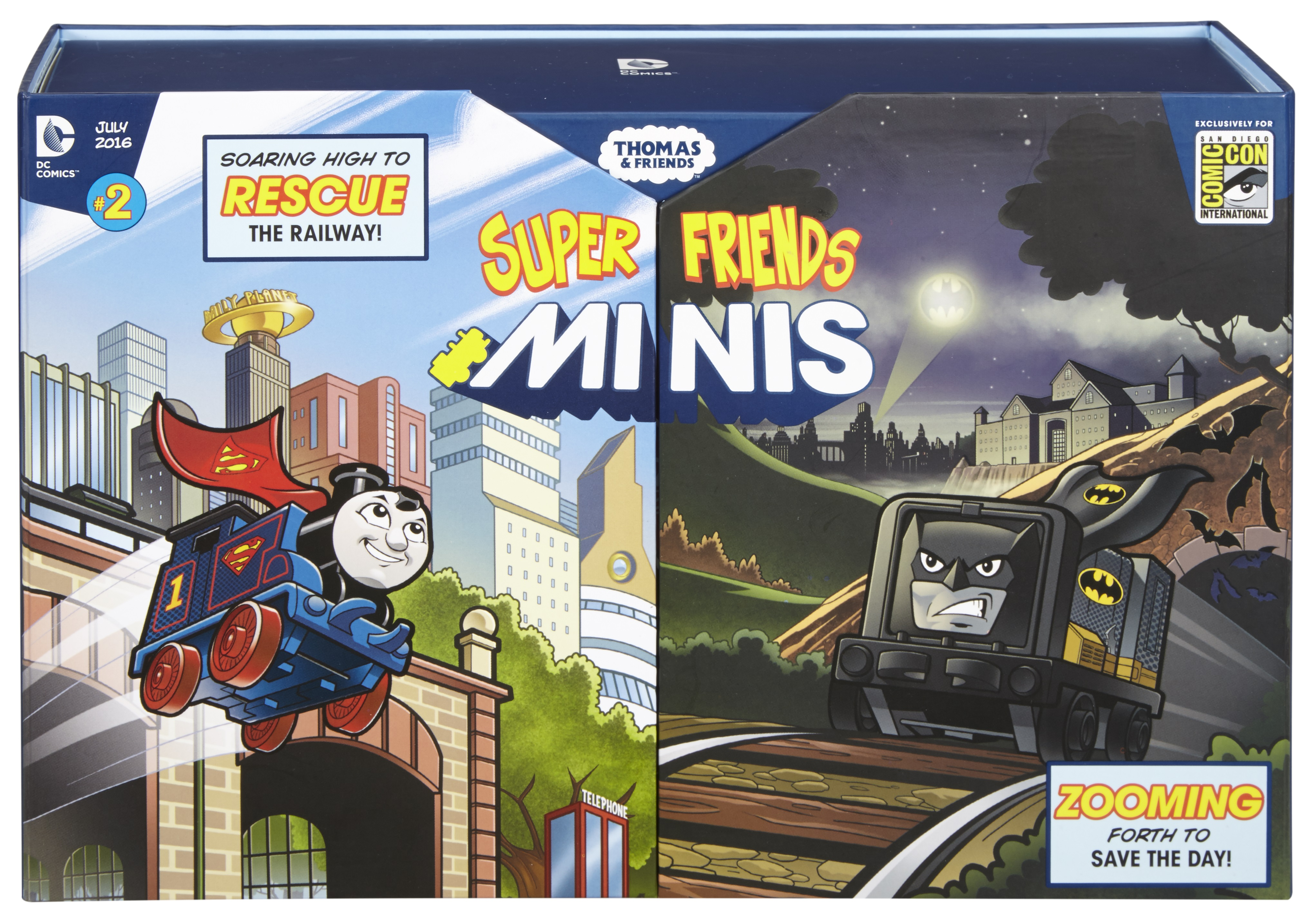 Thomas & Friends: DC Super Friends Minis Vol 1 2