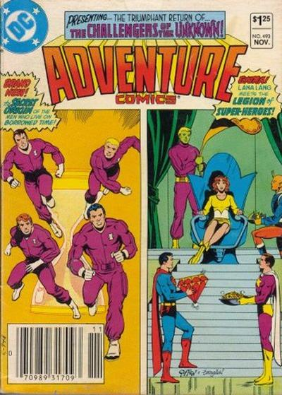 Adventure Comics Vol 1 493