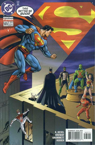 Adventures of Superman Vol 1 565