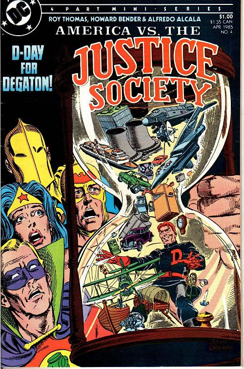 America vs. the Justice Society Vol 1 4